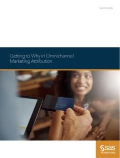 Getting to Why in Omnichannel Marketing Attribution