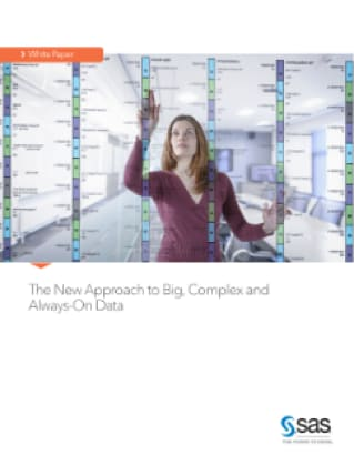The New Approach to Big, Complex and Always-On Data