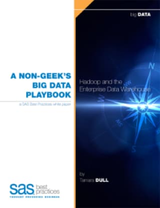 A Non-Geek's Big Data Playbook