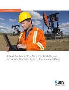Oilfield Analytics