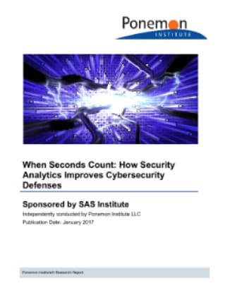 When Seconds Count: How Security Analytics Improves Cybersecurity Defenses