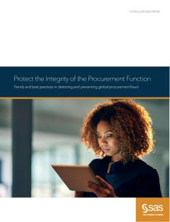 Protect the Integrity of the Procurement Function