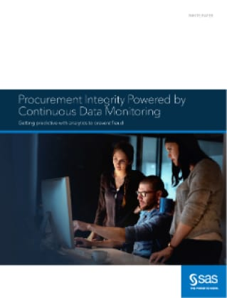 Procurement Integrity Powered by Continuous Data Monitoring