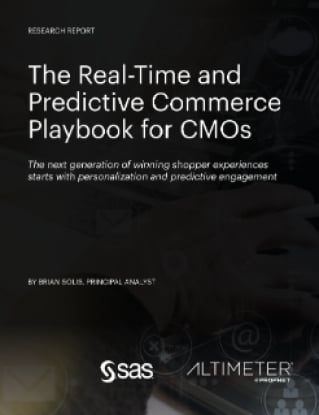 The Real-Time and Predictive Commerce Playbook for CMOs