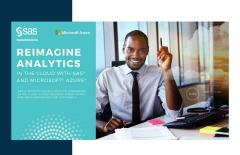 Reimagine Analytics in the Cloud With SAS and Microsoft Azure