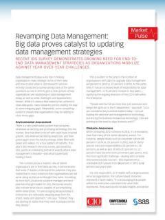 Revamping Data Management