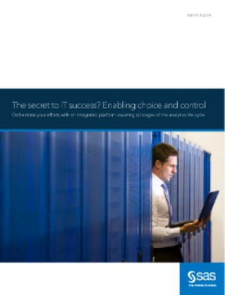 The secret to IT success? Enabling choice and control
