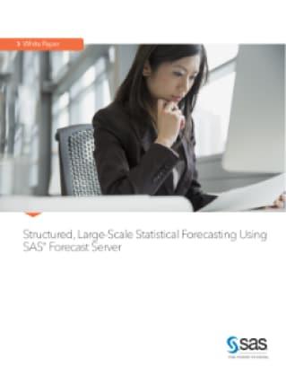 Structured, Large-Scale Statistical Forecasting Using SAS® Forecast Server