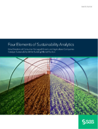 Four Elements of Sustainability Analytics