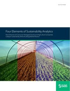Four Elements of Sustainability Analytics