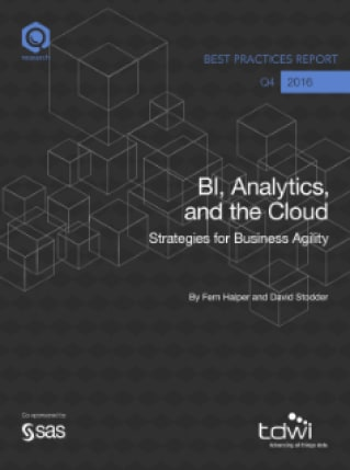 BI, Analytics, and the Cloud: Strategies for Business Agility