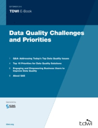 Data Quality Challenges and Priorities
