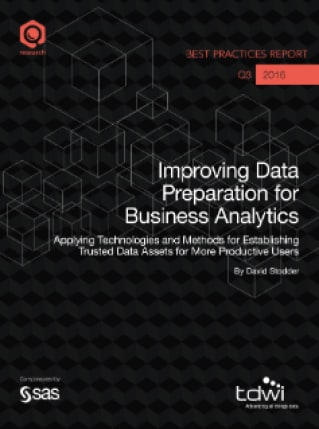 Improving Data Preparation for Business Analytics