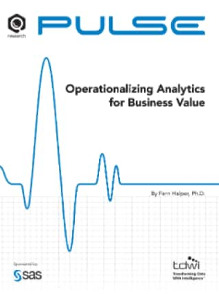 Operationalizing Analytics for Business Value