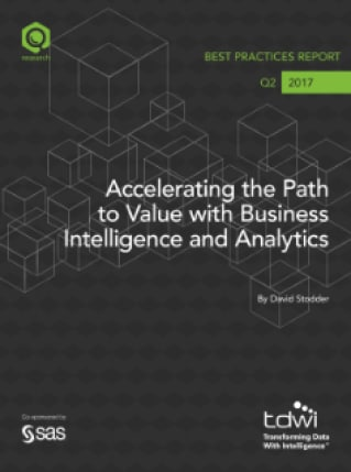 Accelerating the Path to Value with Business Intelligence and Analytics