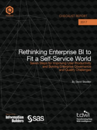 Rethinking Enterprise BI to Fit a Self-Service World
