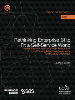 Rethinking Enterprise BI to Fit a Self-Service World
