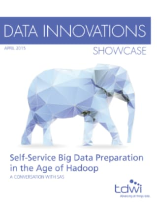 Self-Service Big Data Preparation in the Age of Hadoop: A Conversation With SAS