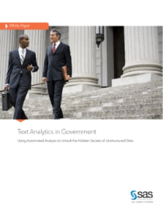 Text Analytics in Government