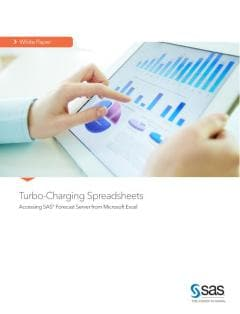 Turbo-Charging Spreadsheets