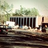 One of the first buildings at Cary headquarters
