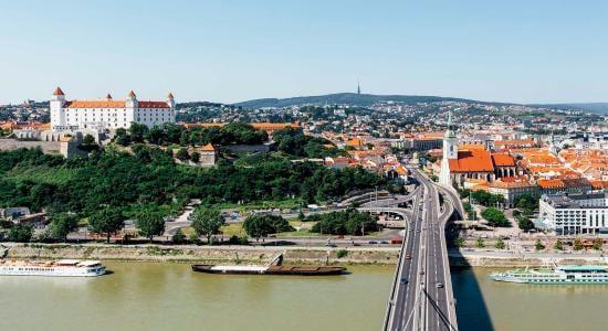 Bratislava Slovak Capital Cityscape
