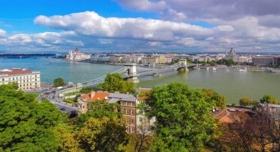 Hungary Budapest skyline