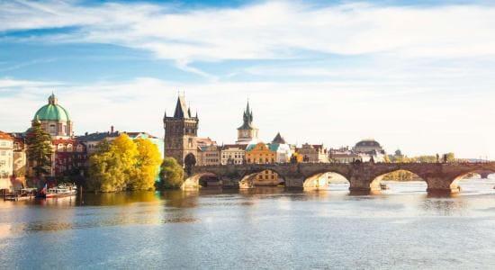 Czech - Prague - skyline