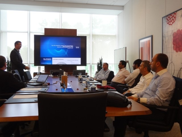 Dubai Islamic Bank Executives in the boardroom 01