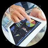 SAS Visual Analytics circle