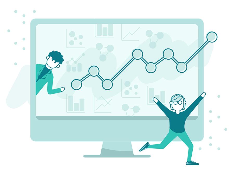 Illustration of innovative designers
