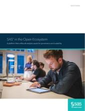 SAS in the Open Ecosystem