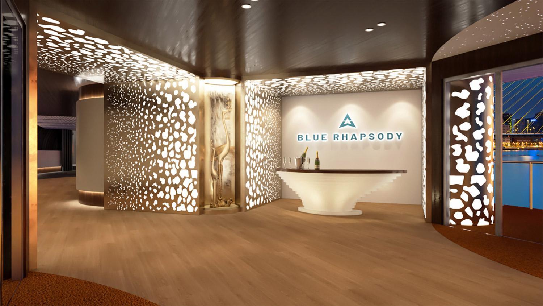 Blue Rhapsody Yacht Reception