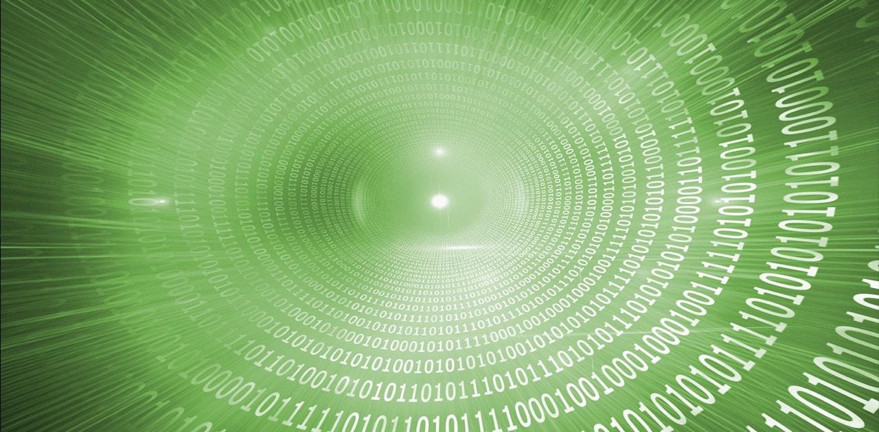 swirl of data