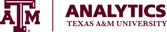 Texas A&M University Analytics logo