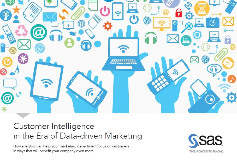 Customer inteligence in the era of data driven marketing cover - English
