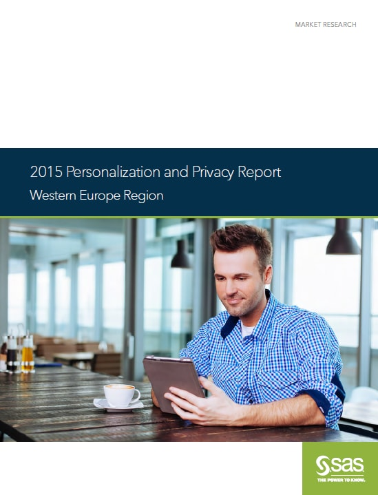 2015 Personalization and Privacy Report - cover