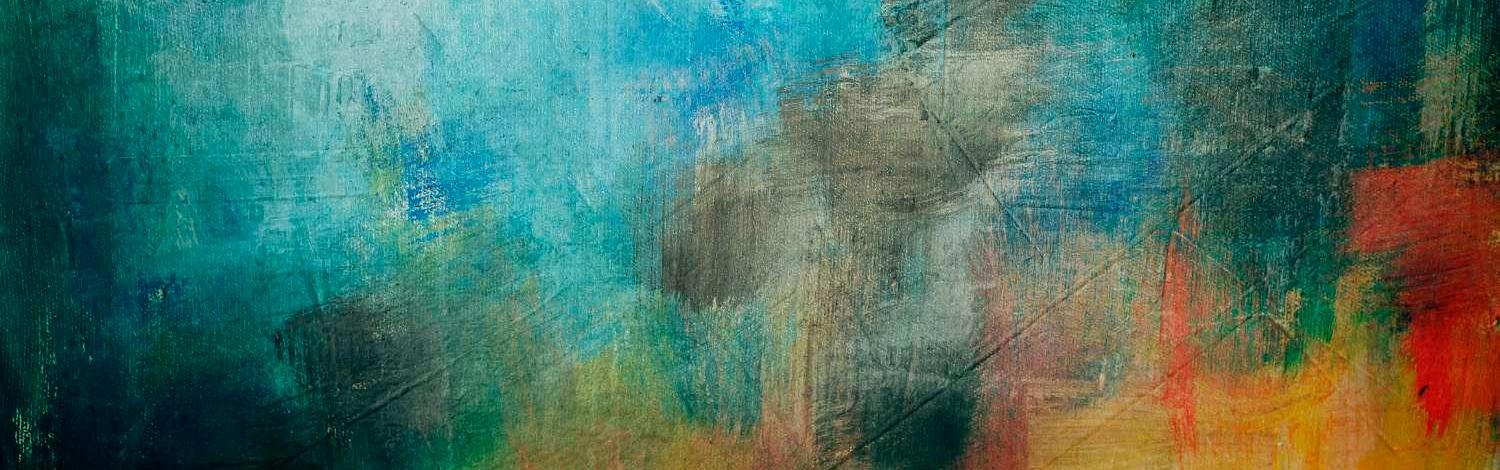 Abstract canvas background - abstract painting background or texture