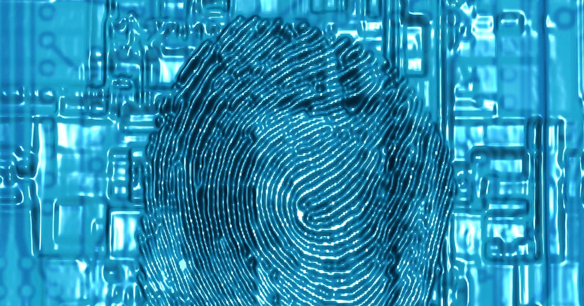 computer-fingerprint-abstract