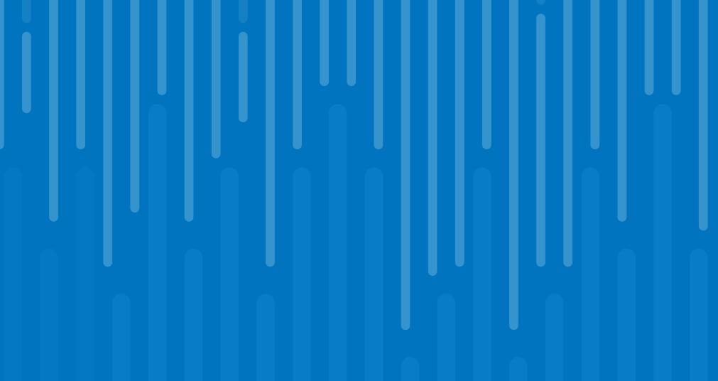 Abstract data visualization art on cobalt blue