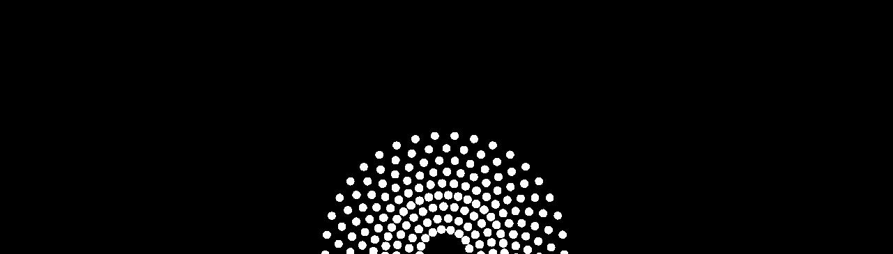 Conceptual art: radiance 15 percent bottom centered
