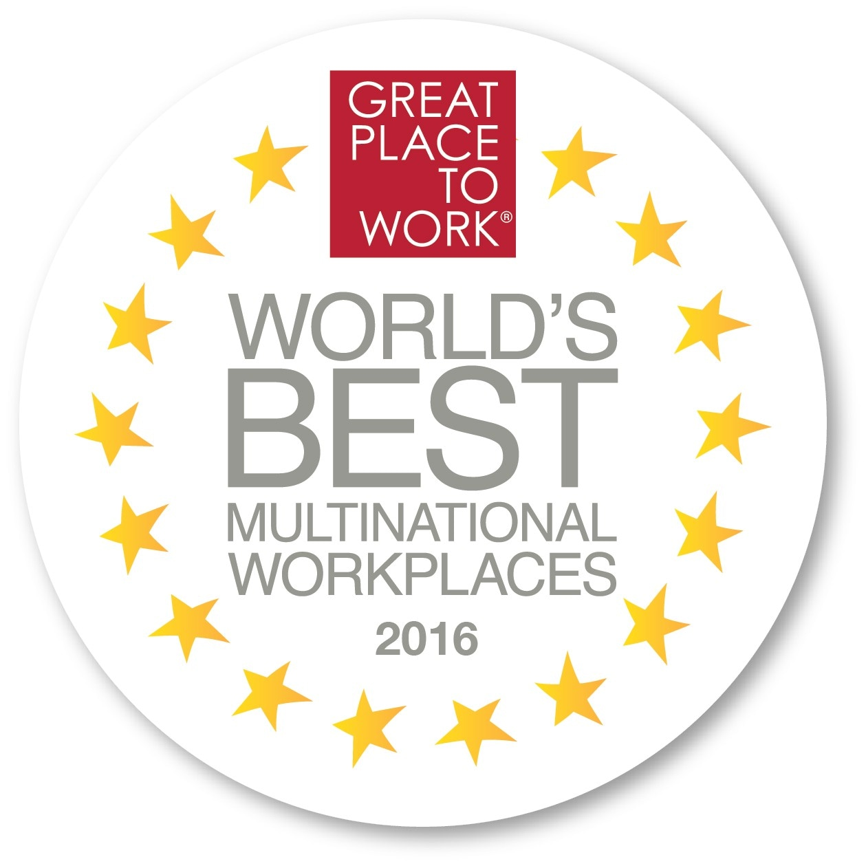 GPTW Multinational Workplaces 2016