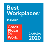 2020 Great Place to Work Inclusion Canada