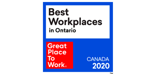 GPTW Best Workplace Ontario 2020