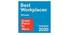 2020 Great Place to Work - Canada- Women