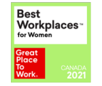 GPTW Canada 2021 Best Workplaces for Women