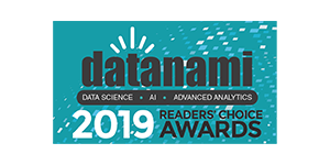 2019 Datanami Readers' Choice Award