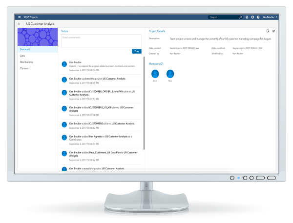 SAS® Data Preparation on desktop - data projects