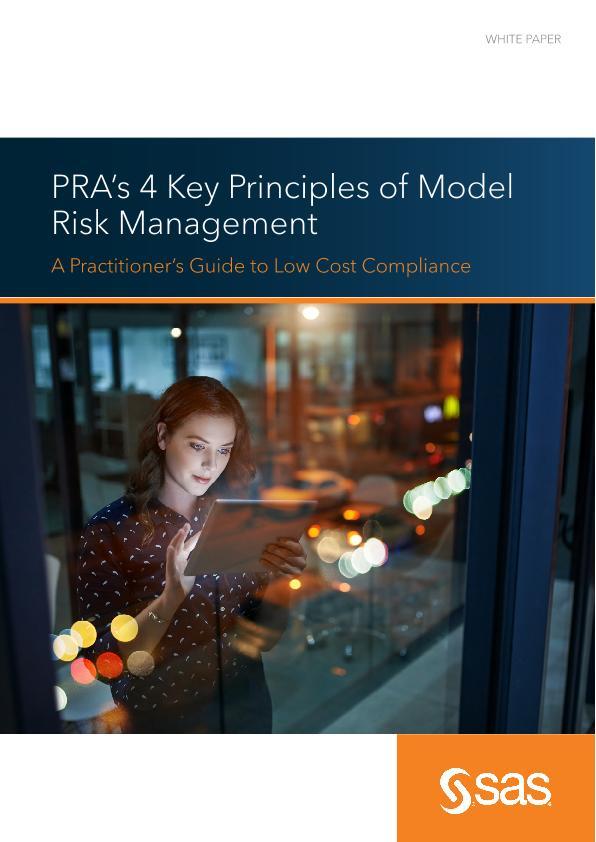 PRA's 4 Key Principles of Model Risk Management