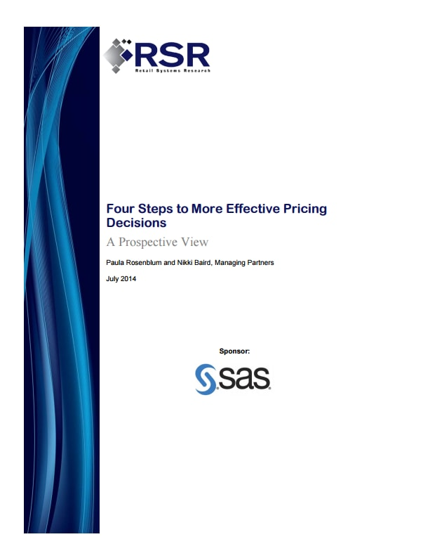 Four Steps to More Effective Pricing Decisions